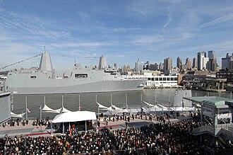 USS New York (LPD-21) - Image: USS New York