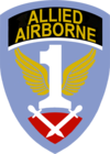 Insigne de la First Allied Airborne Army