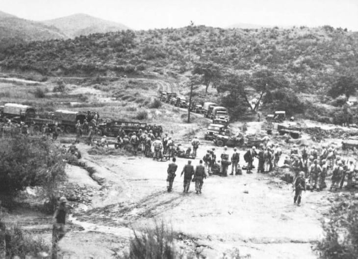 US Marines at Boulder City July 1953