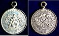 US Medal Franco-Prussian War, German San Francisco Peace Festival 22 March 1871.jpg