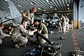 US Navy 060815-N-5914D-001 Marines assigned to Battalion Landing Team 2-4, attached to the 15th Marine Expeditionary Unit, perform maintenance on a mortar.jpg