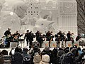 US Navy 080208-N-1083F-001 Members of the U.S. 7th Fleet Band perform in the snow during the annual Sapporo Snow Festival.jpg