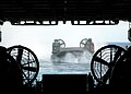 US Navy 080712-N-5681S-004 A landing craft air cushion from Assault Craft Unit (ACU) 4 approaches the multi-purpose amphibious assault ship USS Iwo Jima (LHD 7) during the Iwo Jima Expeditionary Strike Group composite unit trai.jpg