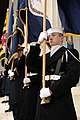 US Navy 090118-A-8725H-561 Members of the Joint Ceremonial Honor Guard line the steps at the Lincoln Memorial.jpg