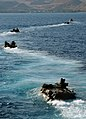 US Navy 090624-N-1831S-096 Amphibious assault vehicles launched from USS Fort McHenry (LSD 43).jpg