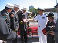 US Navy 100726-N-2148B-001 Cmdr. Curt Jones, commanding officer of the amphibious transport dock ship USS New York (LPD 21).jpg