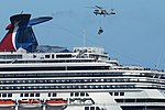 US Navy 101109-N-5853P-198 An HH-60H Sea Hawk helicopter delivers pallets of supplies to the cruise ship Carnival Splendor.jpg
