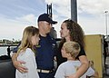US Navy 110405-N-UK333-025 enior Chief Fire Control Technician Samuel Tweedy says goodbye to his family before USS Bremerton (SSN 698) departs Join.jpg
