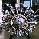 Unidentified engine - Evergreen Aviation & Space Museum - McMinnville, Oregon - DSC00498.jpg