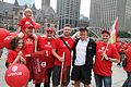 Unifor activists with Kevin Rebeck.jpg