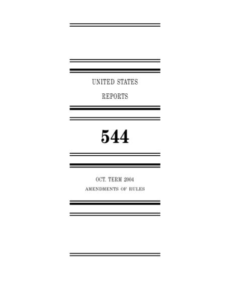 File:United States Reports, Volume 544.djvu