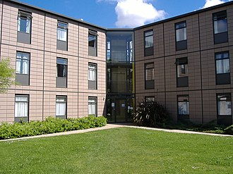 University of Nottingham Halls of Residence - One of the detached blocks of Ancaster Hall.