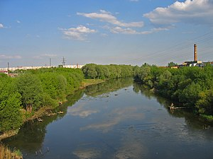 Upa River - Upa river in Tula