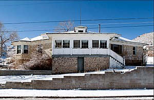 National Register of Historic Places listings in Nye County, Nevada - Image: Uri B Curtis House