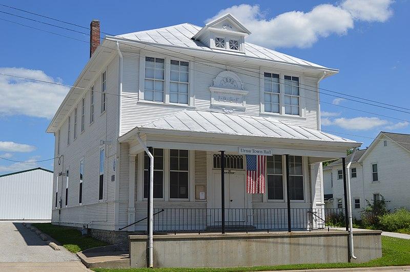 File:Ursa Town Hall from northwest.jpg