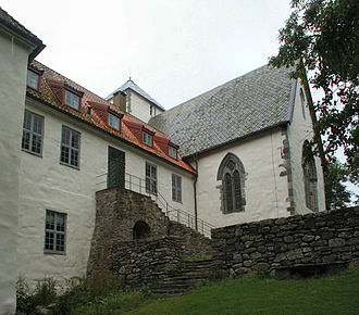 Utstein Abbey - Utstein Abbey today