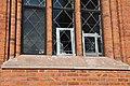Västerås Domkyrka vandaliserat fönster.jpg