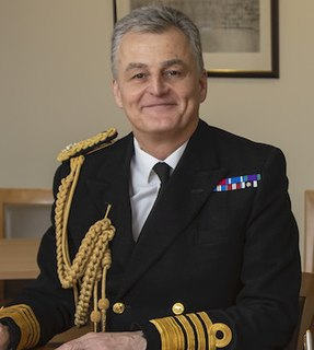 Tim Fraser Royal Navy admiral