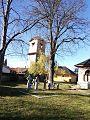 Valenii de Munte, biserica Sf Nicolae - turn clopotnita.jpg
