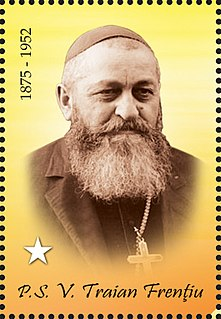 Valeriu Traian Frențiu Romanian greek-catholic bishop