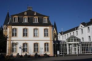WHU-Otto Beisheim School of Management - The Marienburg in Vallendar is the main building of WHU.
