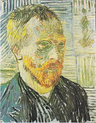 Vincent van Gogh: Self-Portrait with Japanese Print