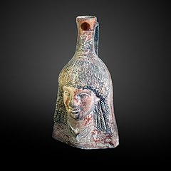 Vase as Egyptian woman-N 3344