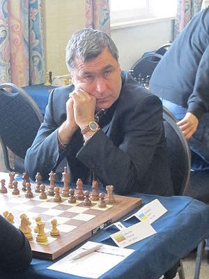 Gibraltar Chess Festival - Vassily Ivanchuk at the Gibraltar Chess Festival in 2013 (he was the highest ranked player there that year)