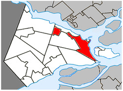 Vaudreuil-Dorion Quebec location diagram.PNG