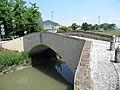 Vecchio ponte sul canale Bisatto (Marendole, Monselice) 03.jpg