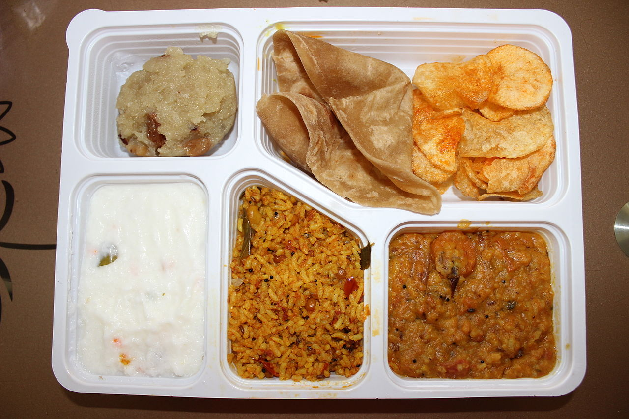 File veg mini meals in tamil nadu jpg wikimedia commons for Aharam traditional cuisine of tamil nadu
