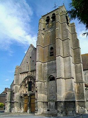Verberie - Image: Verberie (60), église Saint Pierre et Saint Paul, façade ouest