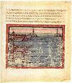 Vergilius Vaticanus - BAV Lat.3225 - f42 - start of the ship race.jpg