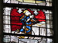 """Verrière des """"3 Marie"""" - dauphin Louis (XI) sous Marie Salomé Notre-Dame, Évreux.JPG"""