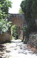 L'antica Via Clodia presso Saturnia