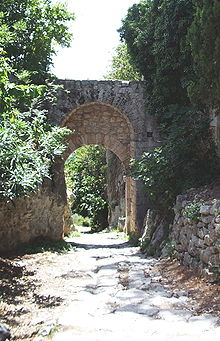 La Via Clodia a Saturnia presso Porta Romana
