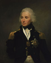 Vice-Admiral Horatio Nelson, 1758-1805, 1st Viscount Nelson