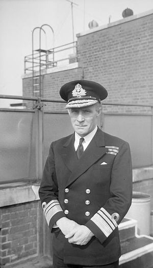 Guy Royle - Vice Admiral Royle as Chief of Australian Naval Staff during the Second World War