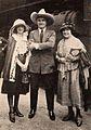 Victoria Forde, Tom Mix, Eugenie Forde - Jul 1921 EH.jpg