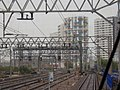 View down the tracks to Stratford Station - geograph.org.uk - 2157253.jpg