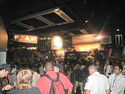 F.E.A.R. 3 exhibit stand at PAX Prime 2012 (left)