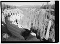 View up Pinnacle Valley. View NW. - Crater Lake National Park Roads, Klamath Falls, Klamath County, OR HAER OR-107-43.tif