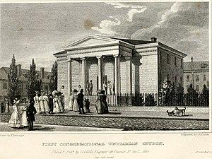 First Unitarian Church of Philadelphia - Second building