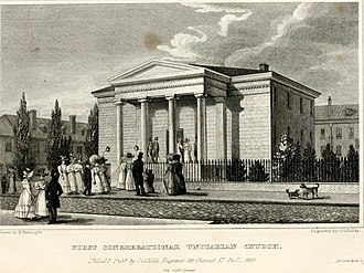 First Unitarian Church of Philadelphia - Second building