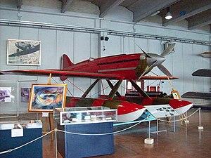 Italian Air Force Museum - Image: Vigna di Valle 20110812 — Macchi Castoldi M.C.72 MM 181