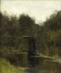Corner of a Pond near Breukelen