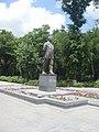 Viktor Hambardzumyan statue, Yerevan 02.jpg