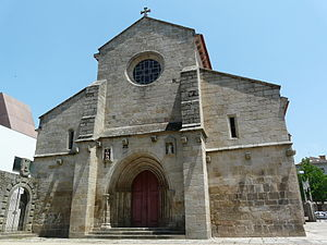 Cathedral of Vila Real - Image: Vila Real Cathedral