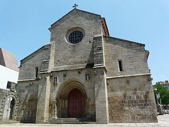 Vila Real - Image: Vila Real Cathedral