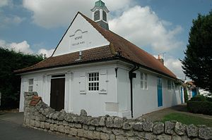 Clough Williams-Ellis - Village Hall, Stone. Clough Williams-Ellis, 1910.